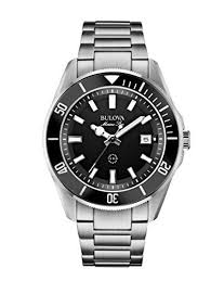 17 best ideas about bulova mens watches bulova bulova 98b203 mens marine star silver steel bracelet watch