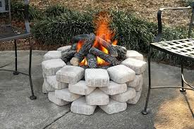 diy outdoor propane fire pit ideas