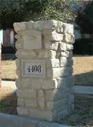 stone mailbox designs. Stone Mailbox Designs B