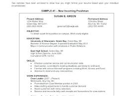 Objective Resume Example For Students Objective Resumes Examples Objective On Resume Sample Career