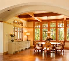 craftsman lighting dining room. diy built in buffet dining room traditional with recessed lighting coffered ceiling craftsman