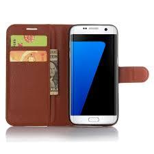 samsung galaxy s7 edge pu wallet leather flip case
