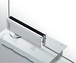 frameless glass door two sd adjust floor spring