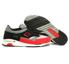 new balance shoes red and black. new balance sneakers m1500rbb fire red black classic grey store shoes and
