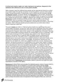 intertextual essay mushrooms by sylvia plath and to his coy  intertextual essay mushrooms by sylvia plath and to his coy mistress by andrew marvell