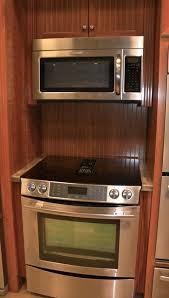 jenn air downdraft range. jenn-air down draft range/oven and otr microwave transitional-kitchen jenn air downdraft range