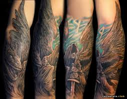 фото тату архангел михаил клуб татуировки фото тату значения эскизы