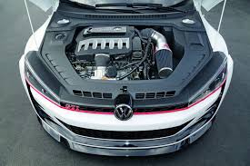 2014 Volkswagen Design Vision GTI engine 3.0L V6 Biturbo 503 HP ...