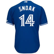 Jersey Numbers Blue Toronto Jays