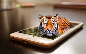 Image result for tiger smartphone