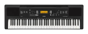yamaha electric keyboard. 76-key portable keyboard in black yamaha electric