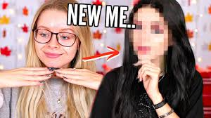 insram bad transformation giving myself a makeover sophdoesnails