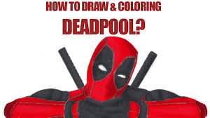 Small Picture Deadpool Coloring Pages YouTube