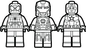 Marvel Coloring Pages Printable Online Free Lego Black Ilovezclub