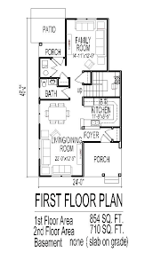 low budget cost affordable traditional home plans narrow lot tiny small 2 story 3 bedroom house