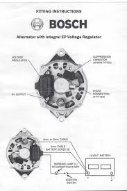 bosch internal regulator alternator wiring diagram com bosch internal regulator alternator wiring diagram
