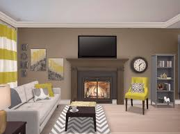 Yellow And Gray Living Room Yellow Gray And Mocha Living Room Living Room By Camee