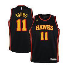 Atlanta Hawks Jordan Statement Swingman Trikot - Trae Young - Jugendliche