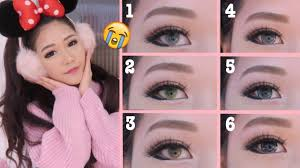 light contact lenses for dark eyes ll ttdeye lens ll how to wear take off contact lenses