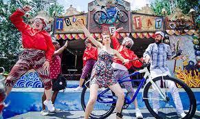 tour de fat fundraiser bike parade
