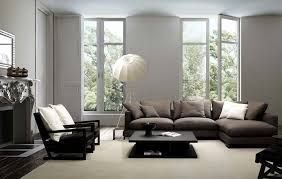 living room small l shaped sofa and col floor lamp feat black coffee table in charm impression living room lighting ideas