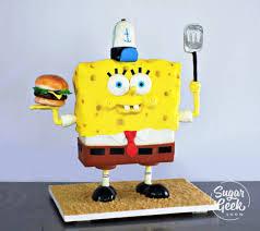 Spongebob Cake Designs Tutorials Sugar Geek Show