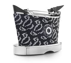 The bugatti volo toaster is a pretty normal toaster, with the option of adjustable browning, it has wide slots and a warming rack. Bugatti Toaster Diamond Shine 13 Volosw1 Cr Onli