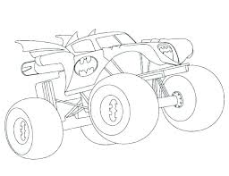 Coloring Pages Monster Trucks Colouring Pages Pdf Truck Coloring