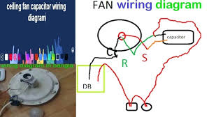 ceiling fan connection photo 4 of 4 ceiling fan capacitor connection diagram 4 ceiling fan capacitor