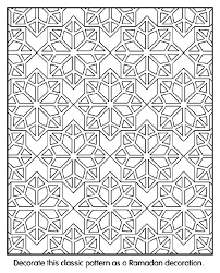 Bright Inspiration Islamic Art Colouring Sheets Patterns Coloring