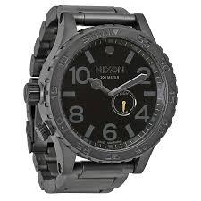 nixon watches jomashop nixon 51 30 tide all gunmetal black men s watch