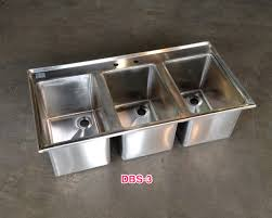 stainless steel commercial drop in bar sink