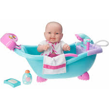 lots to love babies electronic sounds and working bath with 14 all vinyl doll and accessories com