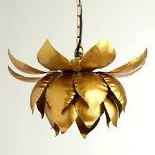 lotus flower chandelier cost plus world market gold lotus hanging pendant lamp lotus flower chandelier tattoo