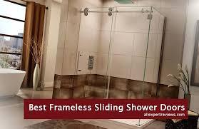 astounding sliding shower door guide best sliding shower doors review ing guide sliding shower door bottom