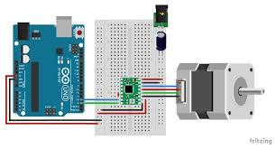 a4988 stepper motor driver with arduino