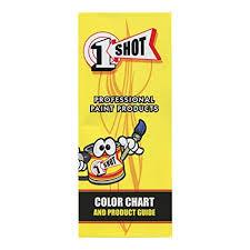 Amazon Com 1 Shot Color Chart Guide W Paint Chips