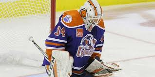 ellis stopped 67 of 68 shots as the condors swept ontario on the road on friday and saay