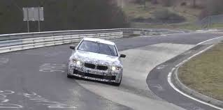 BMW 5 Series how fast is the bmw m5 : new BMW F90 M5 going fast around the Nurburgring