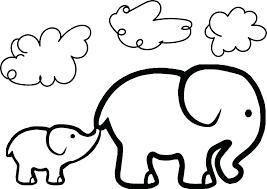 Coloring Page Elephant Coloring Page Elephant Elephant Printable