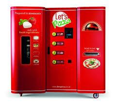 Pizza Vending Machine Xavier Impressive PizzaMaking Vending Machine