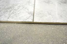 groutless tile installation rectified tiles