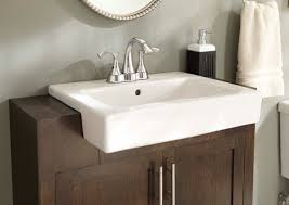 semi recessed bathroom sink gerber plumbing 23