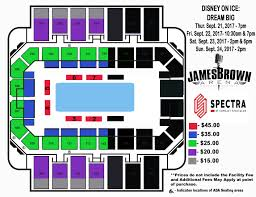 Disney On Ice Seating Chart Oracle Arena James Brown Arena Seating Diagram Catalogue Of Schemas