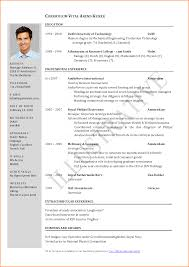 5 Lebenslauf Vorlage Pdf Reimbursement Format