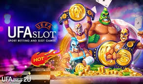 UFABET online slot, a center of hot slots that easily giving jackpots