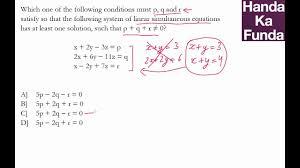 cat exam coaching preparation material algebra handa ka funda c03al02