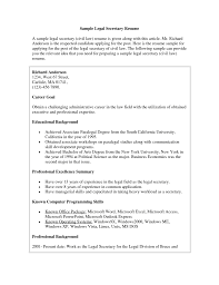 98 Legal Secretary Resume Objectives Pharmacy Technician Resumes