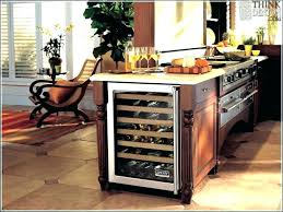 built in wine fridge. Wine Cooler In Kitchen Island Fridge Built