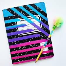 diy notebook back to school supplies